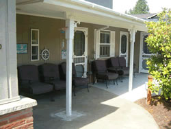 blue ridge adult family home porch